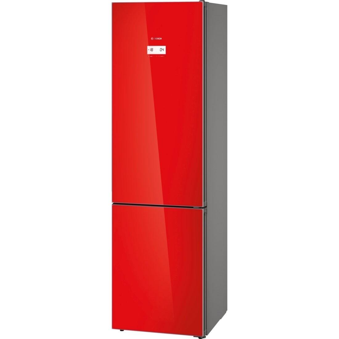 r frig rateur bosch kgn39lr35 de couleur rouge nofrost. Black Bedroom Furniture Sets. Home Design Ideas