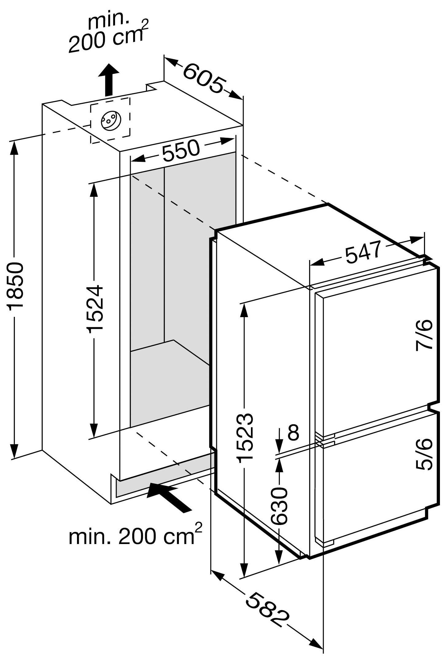 r frig rateur encastrable liebherr icc 2866 premium suisse. Black Bedroom Furniture Sets. Home Design Ideas