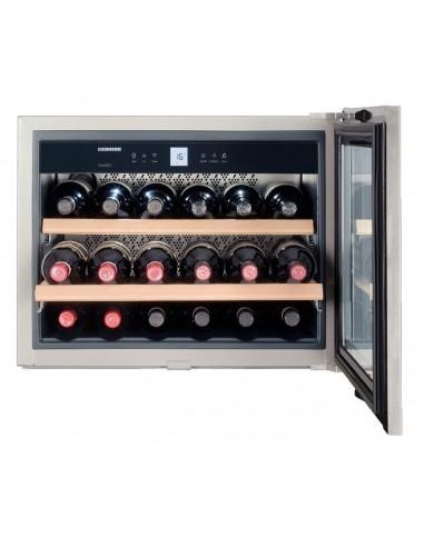Cave à vin à encastrer WKEes 553 18 bouteilles