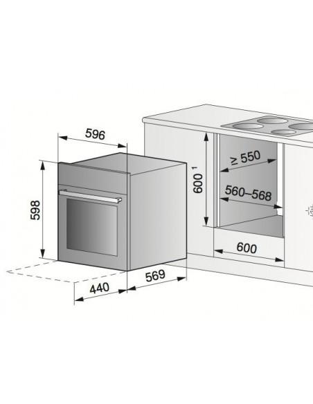Zug Combair SL 60 Miroir - dimensions