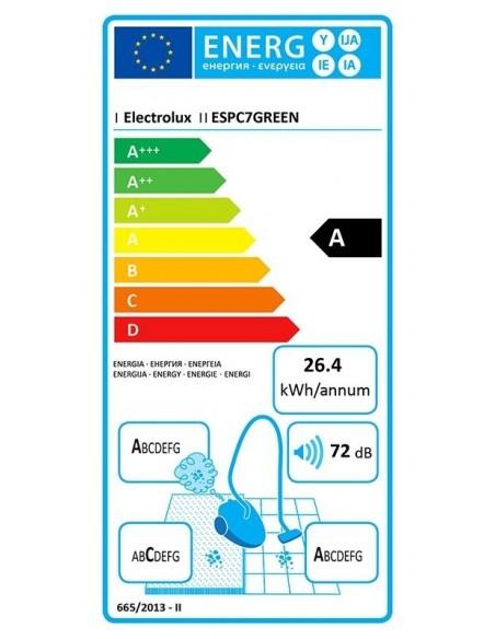 Electrolux SilentPerformer ESPC7GREEN - consommation