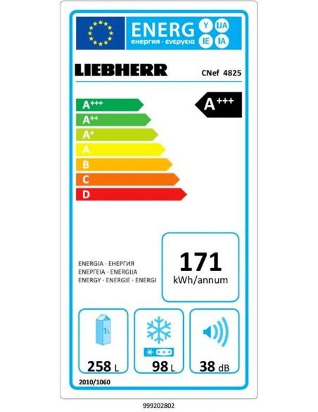 Liebherr CNef 4825 - consommation