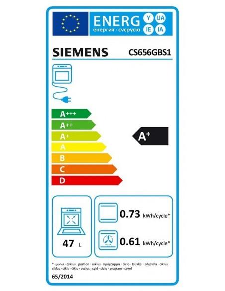 Siemens CS656GBS2 iQ700 - consommation