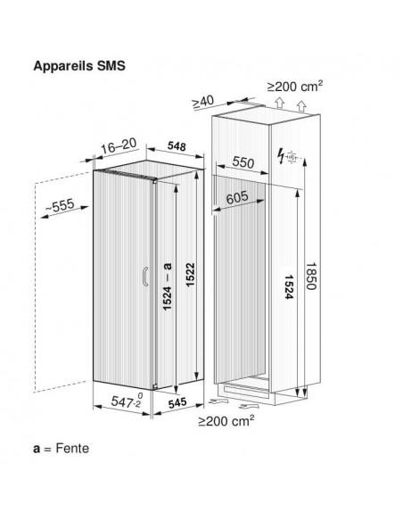 ZUG Optima 2 55 - dimensions