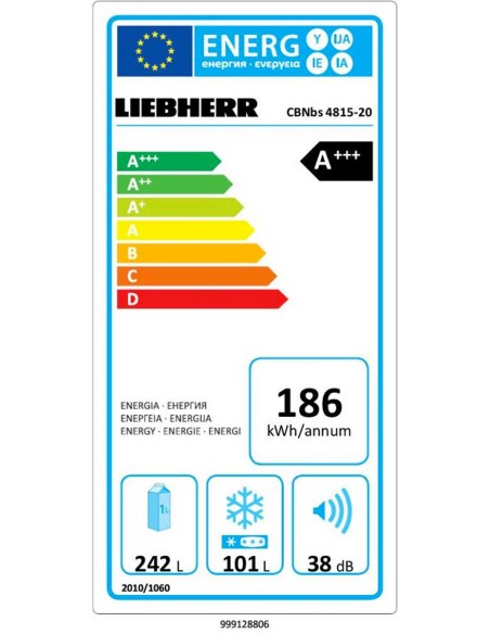 Liebherr CBNbs 4815 - consommation