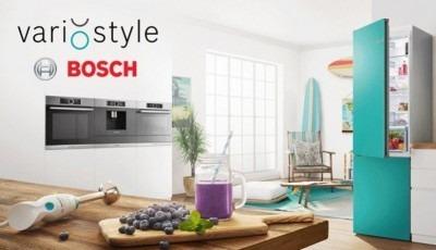 Réfrigérateur Bosch avec 19 coloris à choix interchangeables